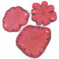 Sunflower wood 54x40x3.5mm pink