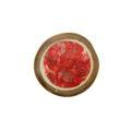 Bamboo cuts w/ broken capiz wholesale pendants