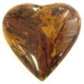 Banana inlay heart pend 55mm yellow wholesale pendants