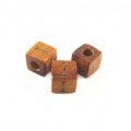 "Bayong Alphabet Wood Bead 8mm ""I"""