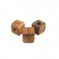 "Bayong Alphabet Wood Bead 8mm ""T"""