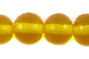 wholesale Orange clear - small round