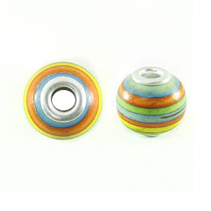 wholesale wood round multicolor