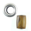 wholesale wood tube 10mmx15mm robles 5.5mm hole