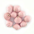 LS-Light Pink Bicone Paper Beads 6-10mm wholesale
