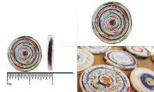 paper bead round 44-46mm wholesale beads