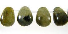 Labradorite Briolette beads 6x8mm wholesale gemstones