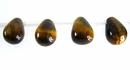 tiger eye briolette 6x9mm wholesale gemstones