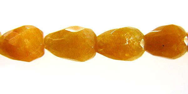 Yellow Jade Teardrop Faceted 6x8mm wholesale gemstones