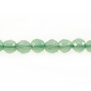 Green Aventurine faceted bead 4mm wholesale gemstones