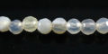 gray agate round beads faceted 4-4.5mm wholesale gemstones