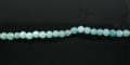 amazonite round beads faceted 4-4.5mm wholesale gemstones