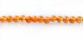 Orange carnelian bead 4mm round wholesale gemstones
