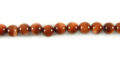 red goldstone round beads 4-4.5mm wholesale gemstones