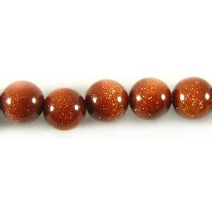 red goldstone round beads 4-4.5mm wholesale gemstones