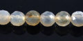 gray agate round beads faceted 6mm wholesale gemstones