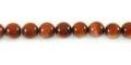 Red goldstone round beads 6mm wholesale gemstones