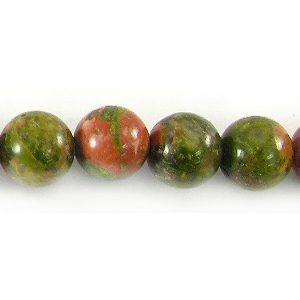 Unakite Jasper round 6mm wholesale gemstones