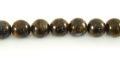 Bronzite round beads 8mm,51pcs/str wholesale gemstones