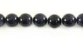 Blue goldstone round beads 8mm wholesale gemstones