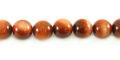 Red goldstone round beads 8mm wholesale gemstones