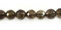 Smoky quartz faceted round 8mm wholesale gemstones