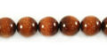 Red goldstone round beads 10mm wholesale gemstones