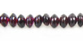 Garnet saucer beads 5x3mm wholesale gemstones