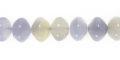 chalcedony rondelle beads wholesale gemstones