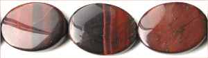 red tiger eye flat oval 15x20 grade AB wholesale gemstones