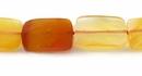 LS-Carnelian faceted rect. wholesale gemstones