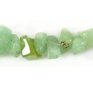 Green aventurine chips 5mm wholesale gemstones