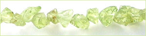 Peridot chips 3-5mm wholesale gemstones