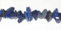 "lapis large chips 7-10mm, 36"" str grade AA wholesale gemstones"