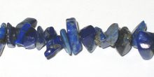 "lapis large chips 7-10mm, 36"" str grade AA wholesale gemstones"