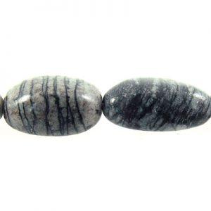 Black Picasso Jasper nuggets wholesale gemstones