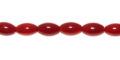 bamboo coral (red) rice beads wholesale gemstones