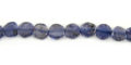 Iolite Coin Beads wholesale gemstones