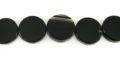 black onyx coins 14-15mmx4.5-5.5mm wholesale gemstones