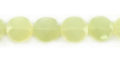 new jade faceted coin 12x6mm wholesale gemstones