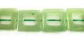 Green Adventurine Square Hollow wholesale gemstones