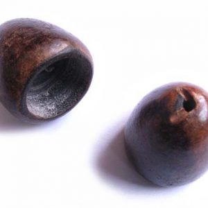 Large burnt horn cup wholesale beads