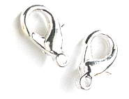 wholesale Lobster Clasps Silver Extra Small