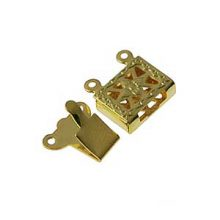 wholesale Snap Clasps 2 strand Gold