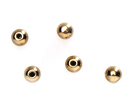 wholesale Memory Wire End Caps Gold 3mm