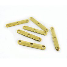 Spacer Bars 3 strand Gold wholesale