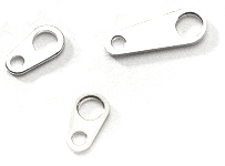 wholesale Tags Silver Small 7mm