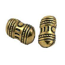 metal beads brass 17x32mm wholesale