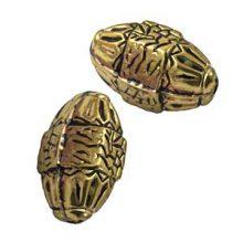 metal beads brass 16x33mm wholesale