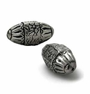 metal beads silver finish 16x33mm wholesale